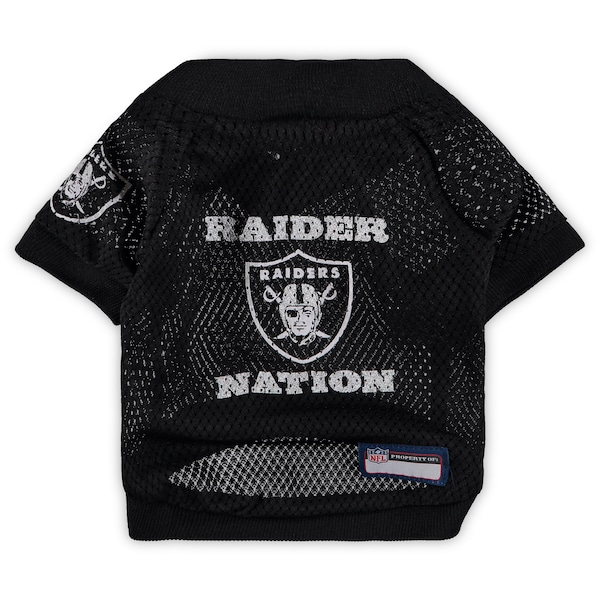Las Vegas Raiders Black Raglan Pet Jersey Packers jerseys