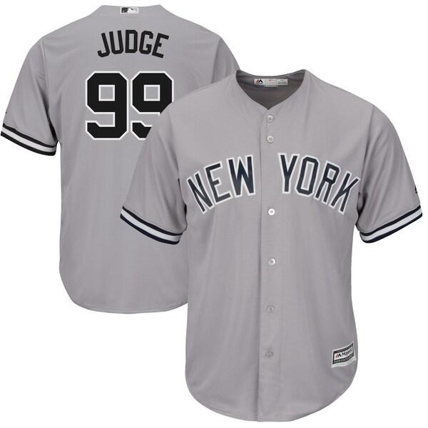 Men's New York Yankees Aaron Judge Majestic Gray Reebok Aaron Judge jersey